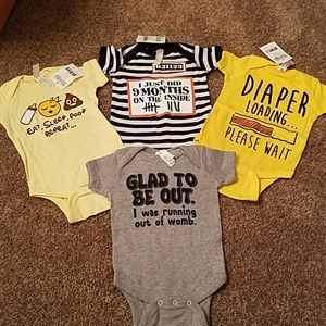 Other - Funny baby onesies